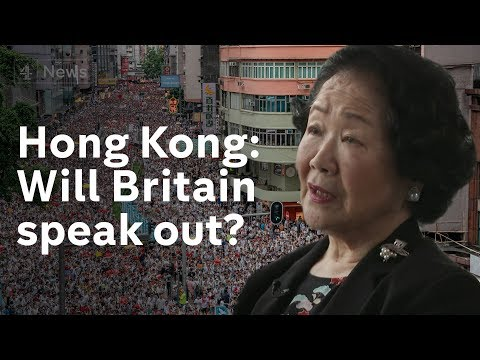 Hong Kong: Calls for Britain to take stance on crisis