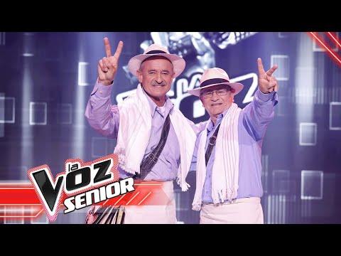 Dueto Armonía Quindiana canta 'Clamor montañero'| La Voz Senior Colombia 2021