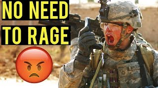No Need To Rage | American Milsim Operation: Copperhead 3 (Elite Force 4CRS Airsoft AEG)
