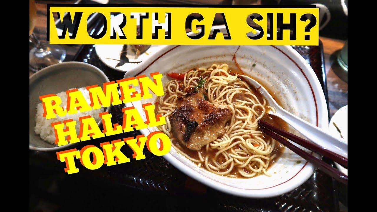 MAKAN RAMEN HALAL DI TOKYO! - YouTube