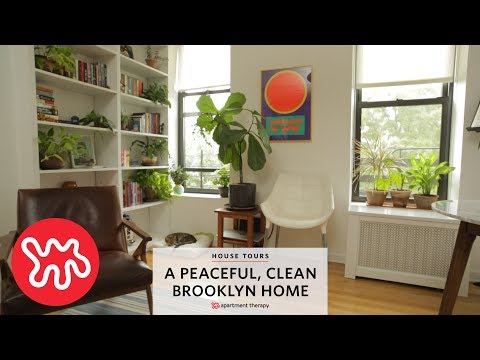 House Tours: A Peaceful, Clean Brooklyn Home | Apartment Therapy