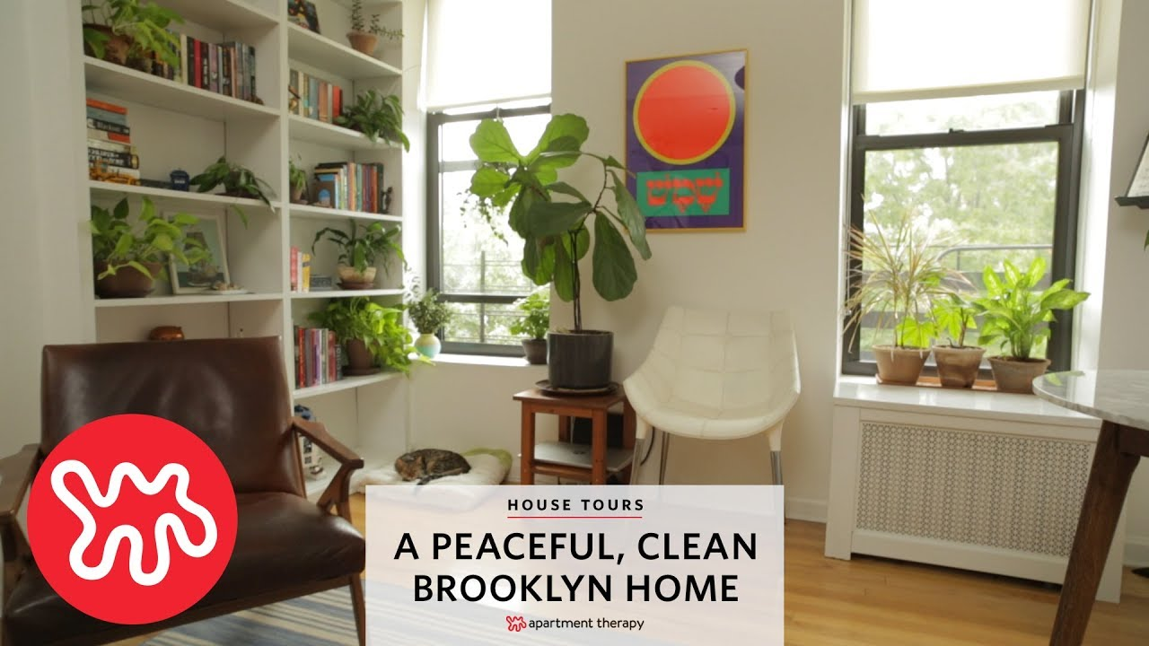 A Peaceful Clean Brooklyn Home House Tours Apartment Therapy