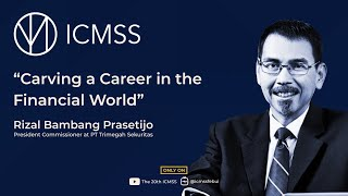 """#BlueTalks, Episode 2, """"Carving a Career in the Financial World"""""""