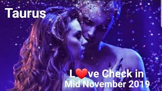 Taurus ❤ Mid November 2019 * They're back but l you've finally found your voice*
