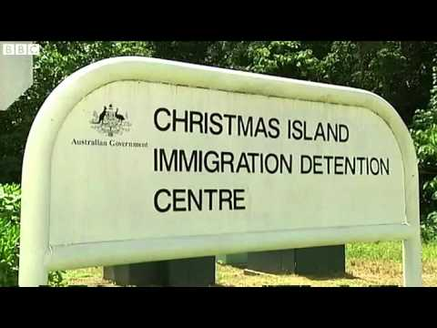 'Major disturbance' and fires at Christmas Island detention centre