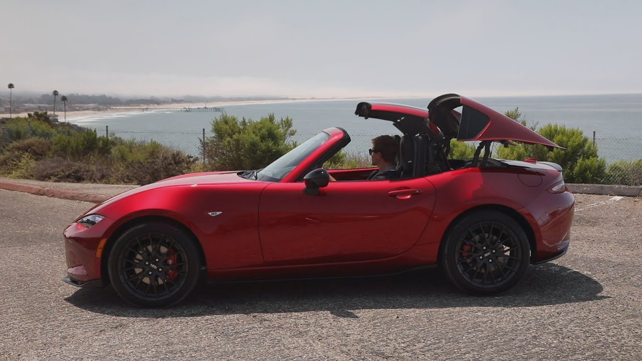 2019 mazda mx 5 rf new miata quick drive youtube. Black Bedroom Furniture Sets. Home Design Ideas