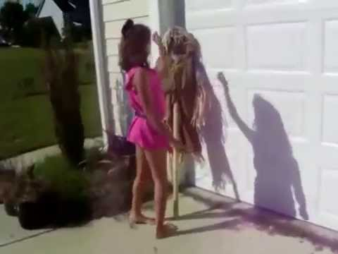 mysterious girl dancing