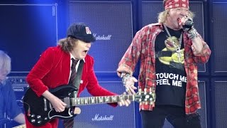 Ac/dc And Axl Rose Back In Black Hd Ceres Park, Aarhus, Denmark, June 12, 2016