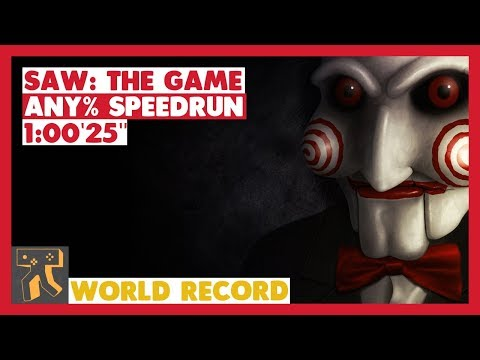 "SAW: The Game - Any% Speedrun - 01:00'25"" [World Record]"
