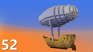 Latający STATEK! - SnapCraft II - [52] (Minecraft 1.13 Survival)