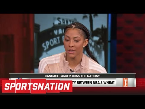 Candace Parker joins the Nation to talk LeBron, WNBA pay gap