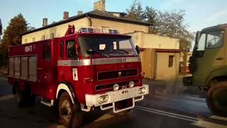 Straż Pożarna 998 - Mix alarmowy podczas pożaru w Wąchocku