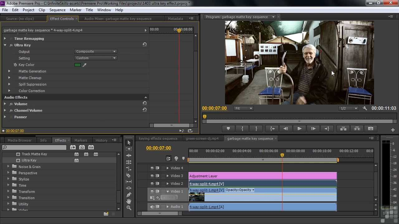 adobe premiere pro cs6 how to add effects