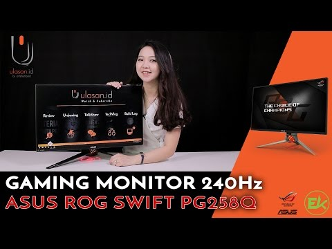 Review Monitor Gaming Asus ROG Swift PG 258Q 240Hz #Ulasan Eps. 159.