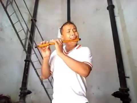Teri Yaad HumsaFar On Flute Nongmaithem Tikendra