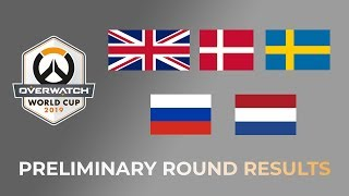 BIG CASUALTIES!!! - Overwatch World Cup 2019 Preliminary Round Results