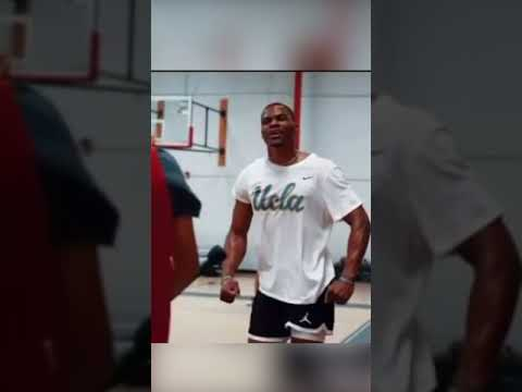 Lakers Russell Westbrook dunks on everyone after balance drill 😳