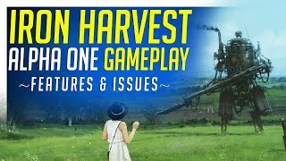 Iron Harvest Gameplay - Alpha 1 Features & Issues