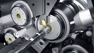 INDEX Multi-spindle automatic lathe MS22-L with swiss type function