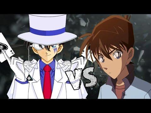 Shinichi Kudo vs Kaito Kid. Batallas de Rap | Kinox ft Energy