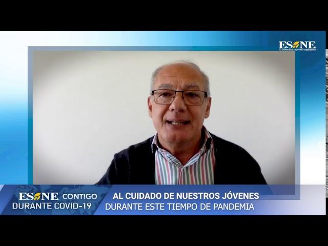 PSA José María del Corral    Ayuda a jóvenes durante Covid