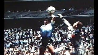 1986W杯 マラドーナのゴールを解明