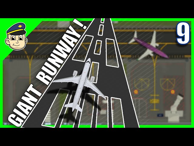 Largest Runway Ever! - Ep. 9 - SimAirport Gameplay