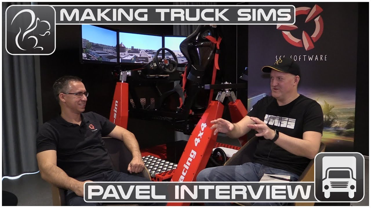 Making Truck Sims (#2) - Interview with Pavel Šebor (SCS Software)