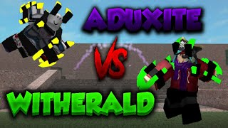 Aduxite VS Witherald PSA Highlights | ROBLOX - Projekt Submus Accudo #02