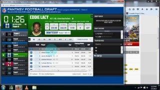NFL.com Online Fantasy Football Draft