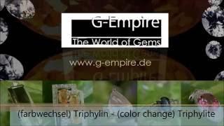 Triphylin Triphylite G-Empire The World Of Gems - Die Welt der Edelsteine Version 2016
