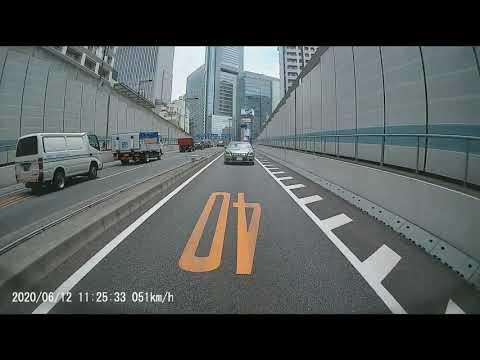 ドライブレコーダー UP-K033 リアカメラ走行動画(6月12日_11:25)