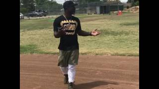Nico Malbrough- Road to MLB . 2018 (SJSU) verbal commitment. Area code practice putting in the
