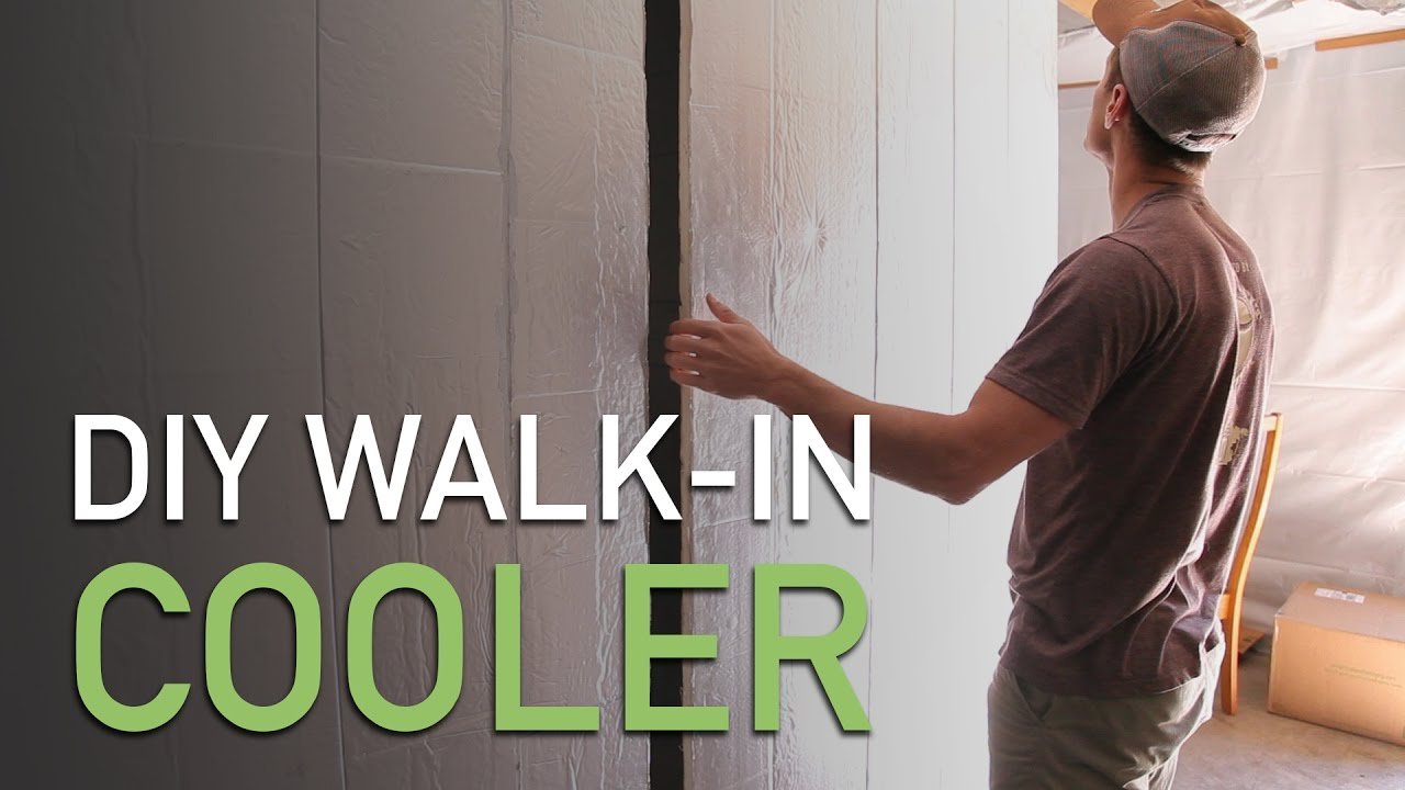 DIY Walk-in Cooler for Small Farms - YouTube