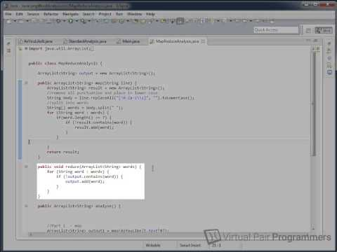 Hadoop - Map Reduce Programming Model