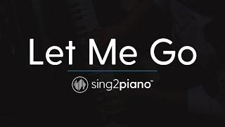 Let Me Go (Piano Karaoke) Hailee Steinfeld, Alesso, Florida Georgia Line & watt