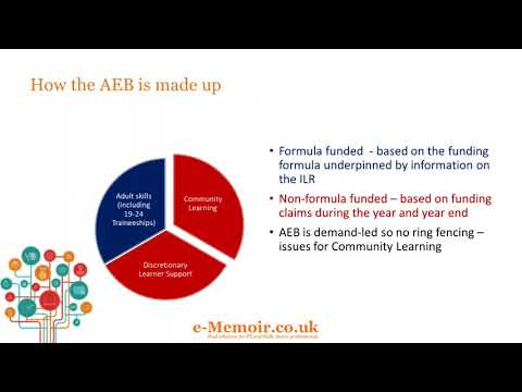 Update on AEB funding 2018 to 2019