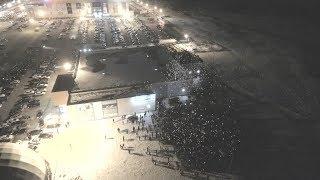 Акция памяти жертв пожара в Кемерово - г. Рязань 28.03.2018 г.