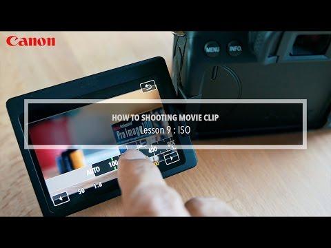บทที่ 9 ISO กับการถ่ายภาพเคลื่อนไหว Movie Clip