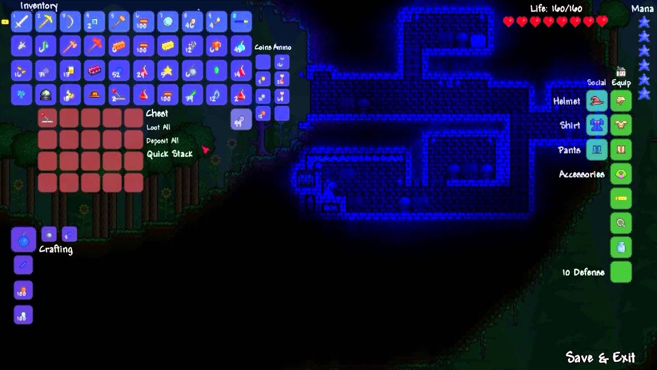 how to build a terraria adventure map