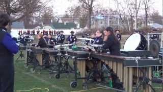 Old Bridge High School Marching Knights State Championships final run through 11/11/12