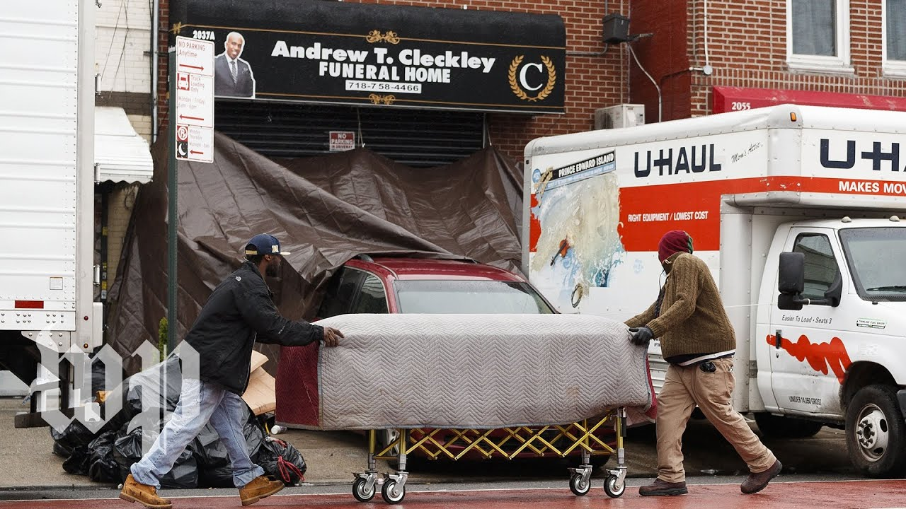 Shock, outrage after bodies found in U-Haul trucks at NYC funeral ...