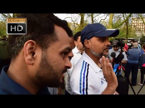 P1 - The Message Hashim & 2 female Visitors | Speakers Corner | Hyde Park