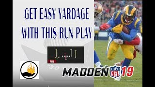 MADDEN 19 - ONE OF THE BEST RUNNING PLAYS IN GAME NO ONE IS USING