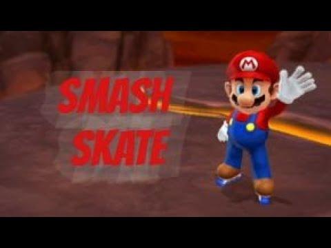 Mario Sports Mix (Wii U) - Party Mode - Smash Skate