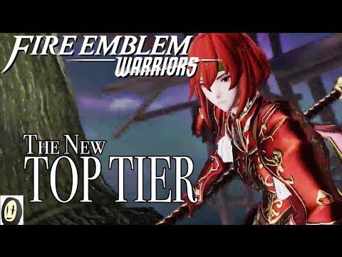 Fire Emblem Warriors - Minerva Showcase (DLC Character)