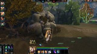 smite bug fps drop and blocked by minions