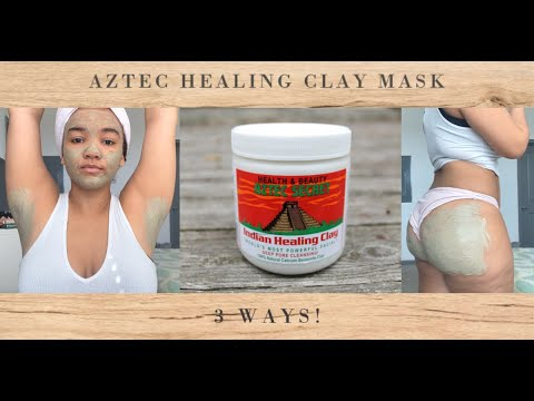 Aztec Healing Clay Mask | 3 Ways