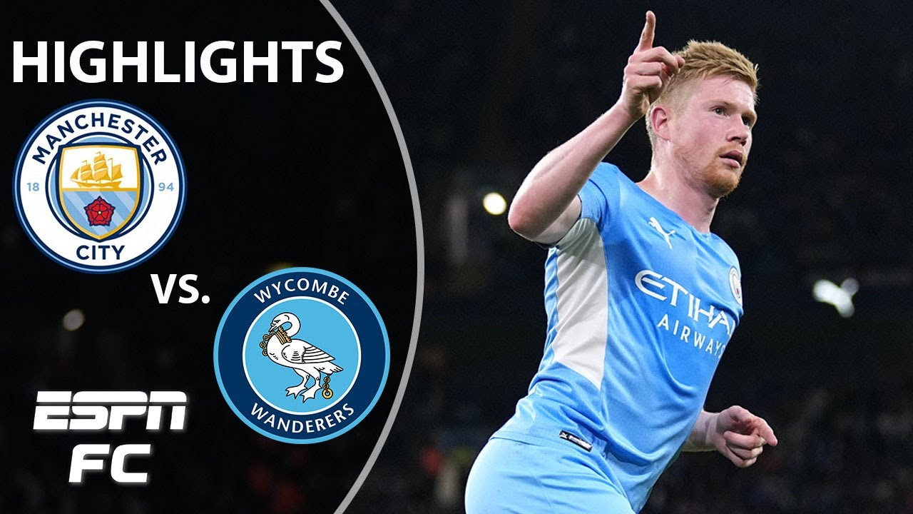 Download Man City scores SIX in huge win vs. Wycombe Wanderers | Carabao Cup Highlights | ESPN FC