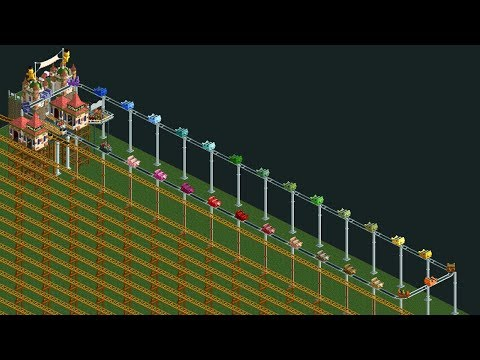 Roller Coaster Tycoon 2 maker builds a ride that takes 12 years — real time